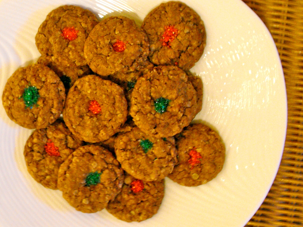 Chewy Chocolate Oatmeal Cookies