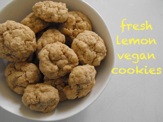 Fresh Lemon Vegan Cookies