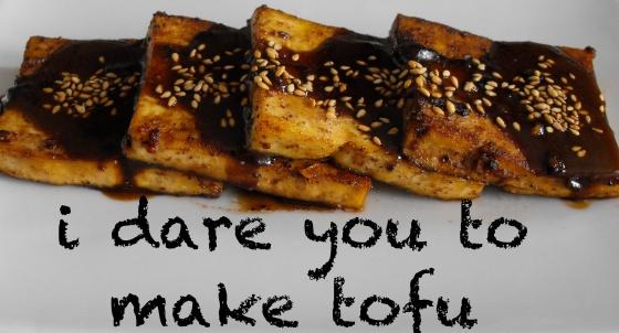 Peanut Butter Rum Tofu