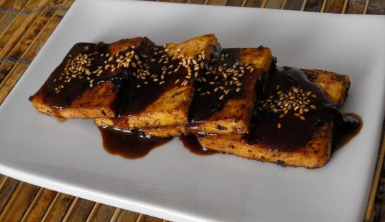 Peanut Butter Spiced Rum Tofu