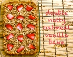 Oatmeal Vanilla Bake