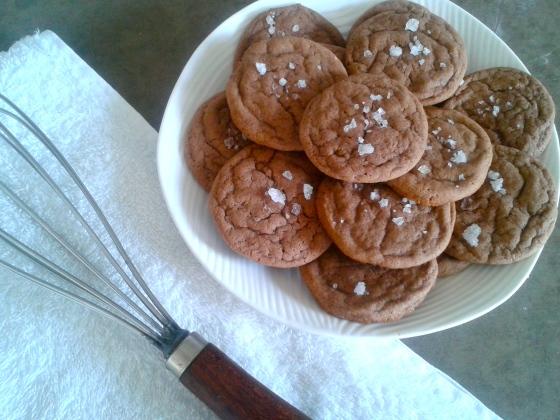 Salty Chocolate Cookie