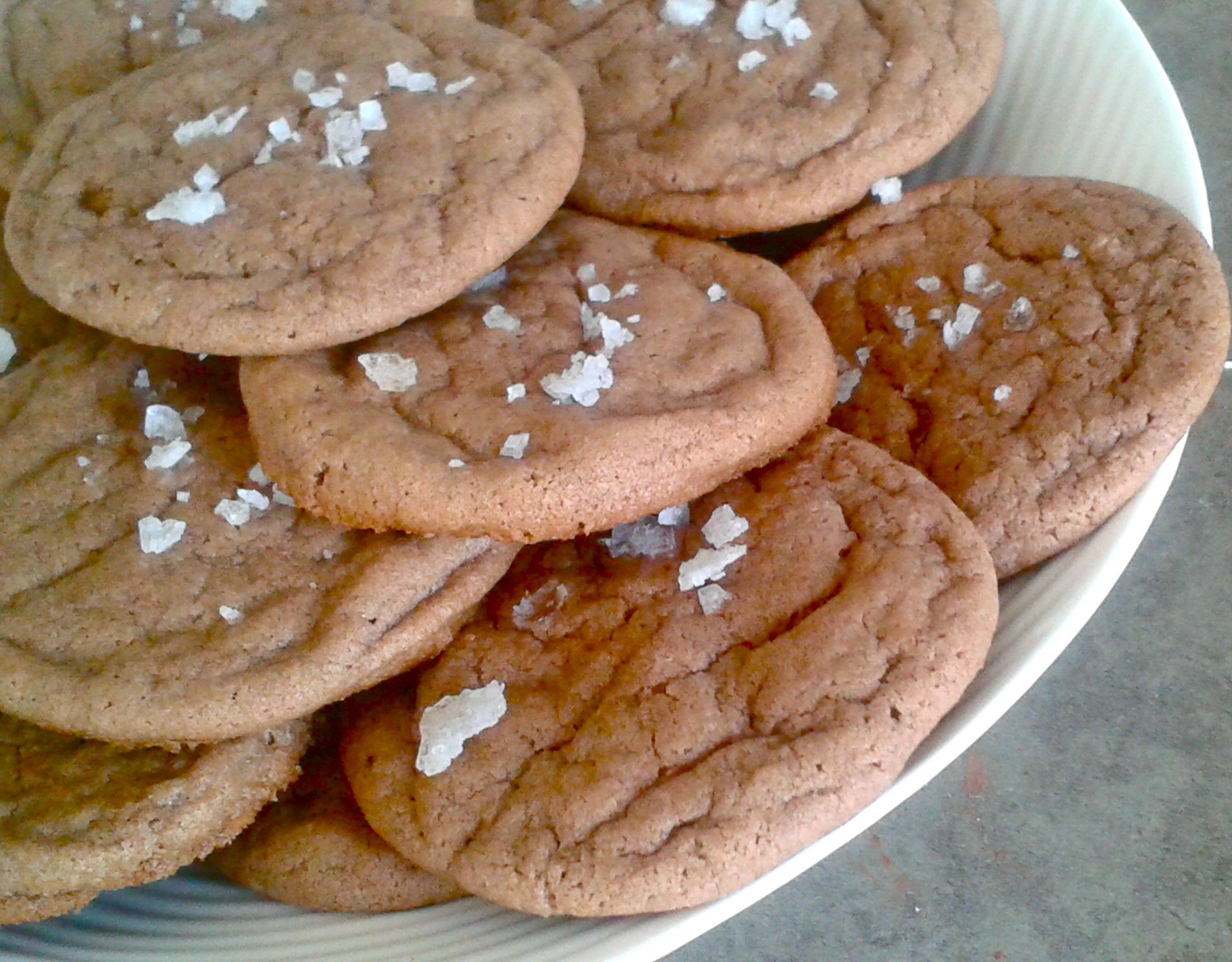 Sea Salt Chocolate Cookies