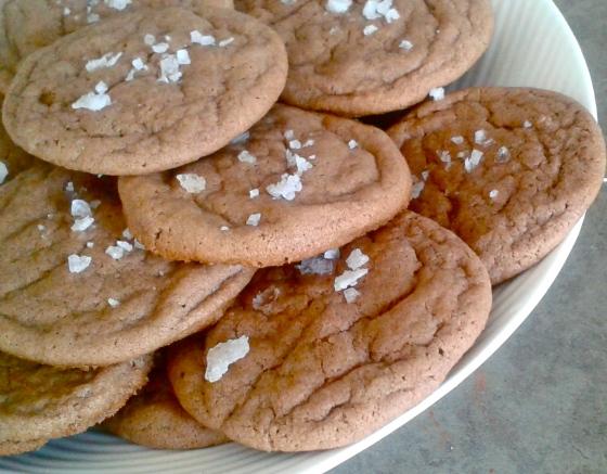 Sea Salt Chocolate Cookie