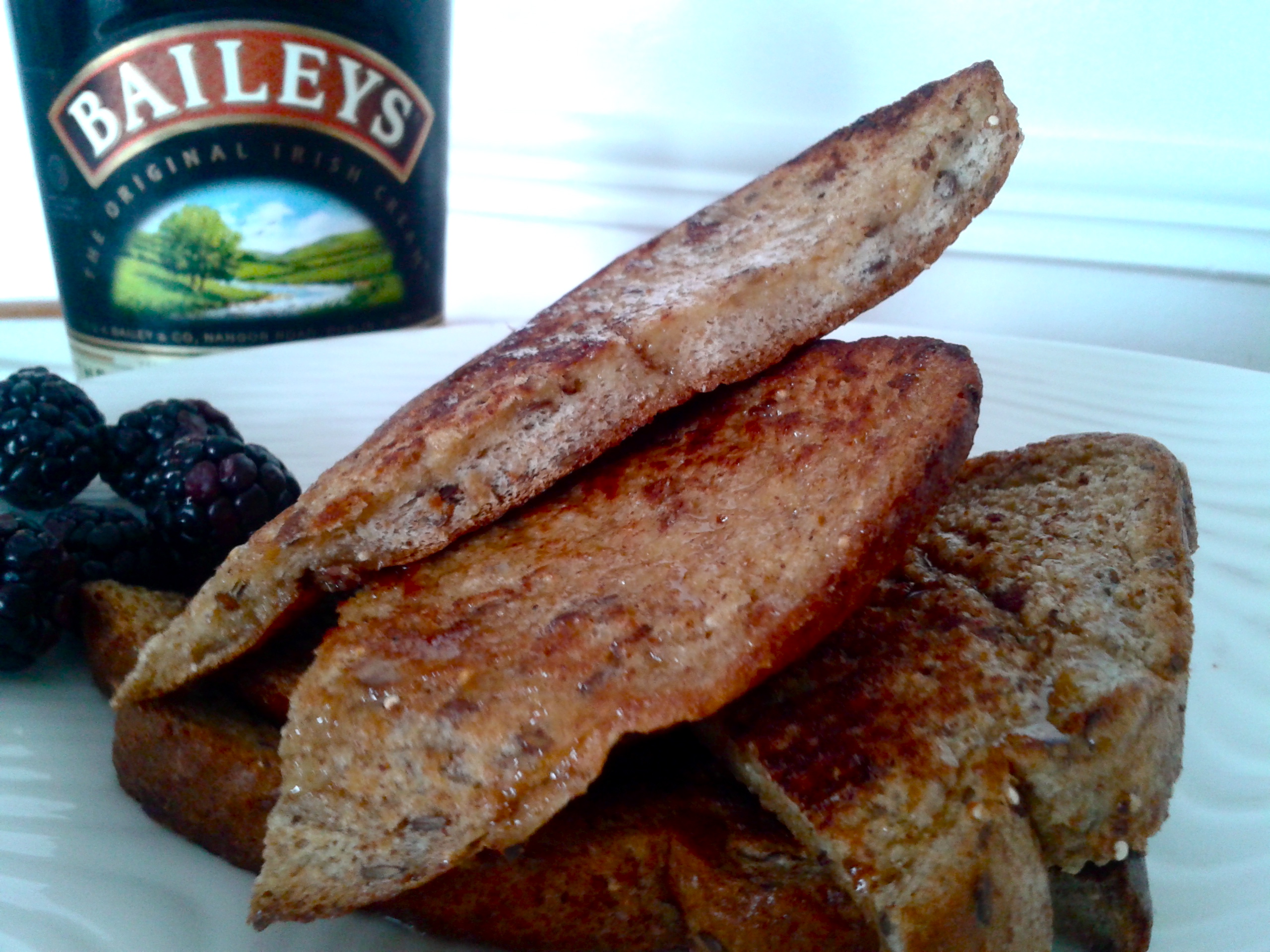 Boozy Baileys French Toast