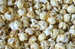 Homemade Flavoured Popcorn
