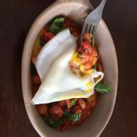 Easy 'Chili',  fry an egg.